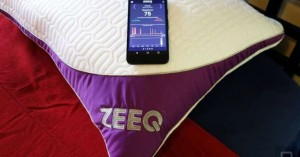 Il sonno diventa smart con il cuscino ZEEQ
