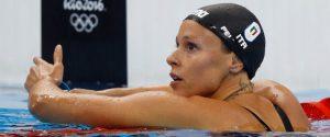La Pellegrini svela il motivo del fallimento alle Olimpiadi di Rio 2016