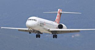 Aereo in volo della compagnia Volotea