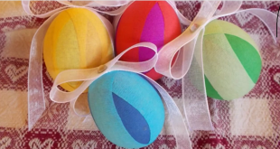 Uova di carta crespa