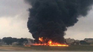 Bimotore precipitato a Malta: tutti i passeggeri deceduti