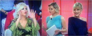 Gemma e Tina Cipollari discutono anche a 'Selfie'
