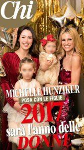 Michelle Hunziker: il 2017 sarà l'anno delle donne!