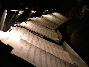 trascrizione spartiti e partiture musicali