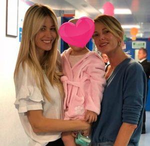 Alessia Marcuzzi va in ospedale dalla sua amica Elena Santarelli!